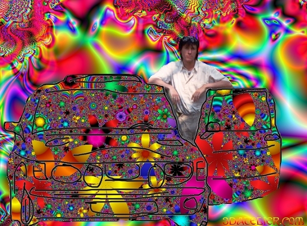 <<Mindbending psychedelic visionary art a virtual reality in surreal psychedelic worlds.>>