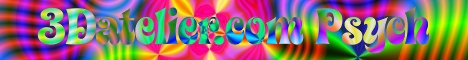 3D atelier-Psychedelic> Banner 468x68 42kb.